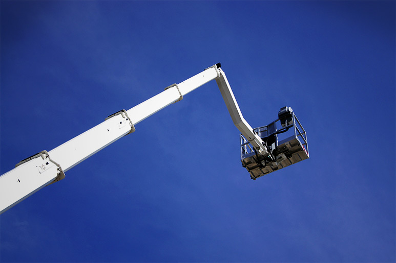 Aerial work Platform with MOBA safety system