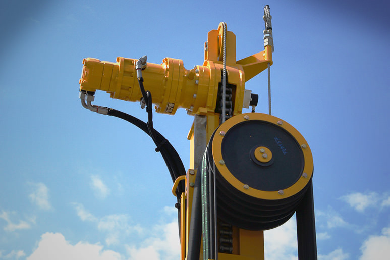 MRS sensor for optimal depth measurement at drill rigs