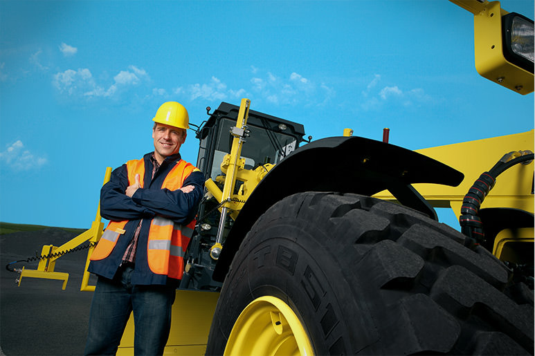 MOBA Service Support for optimal earthmoving construction sites world wide