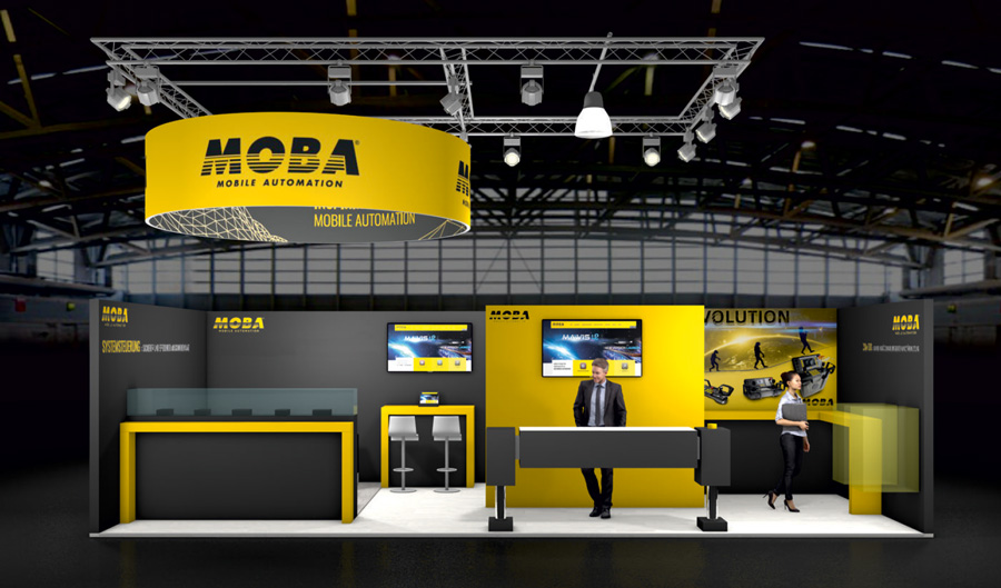 APEX Amsterdam Booth Design MOBA