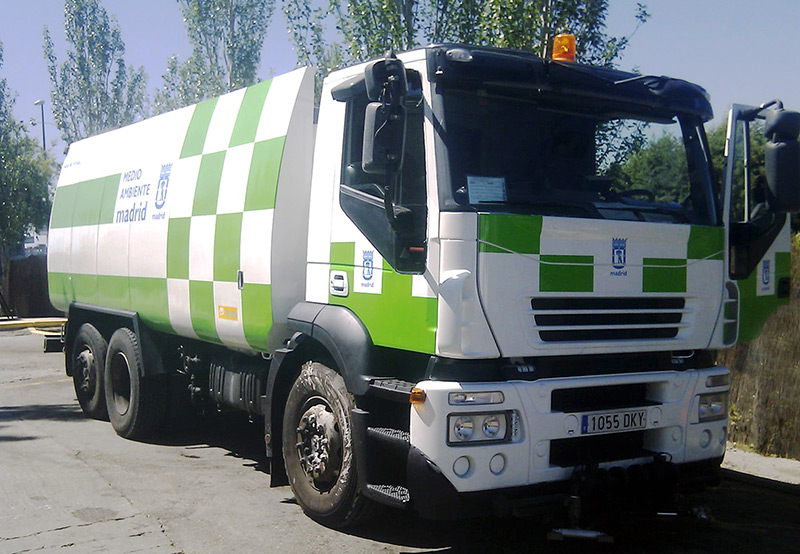 MOBA Madrid Waste Truck