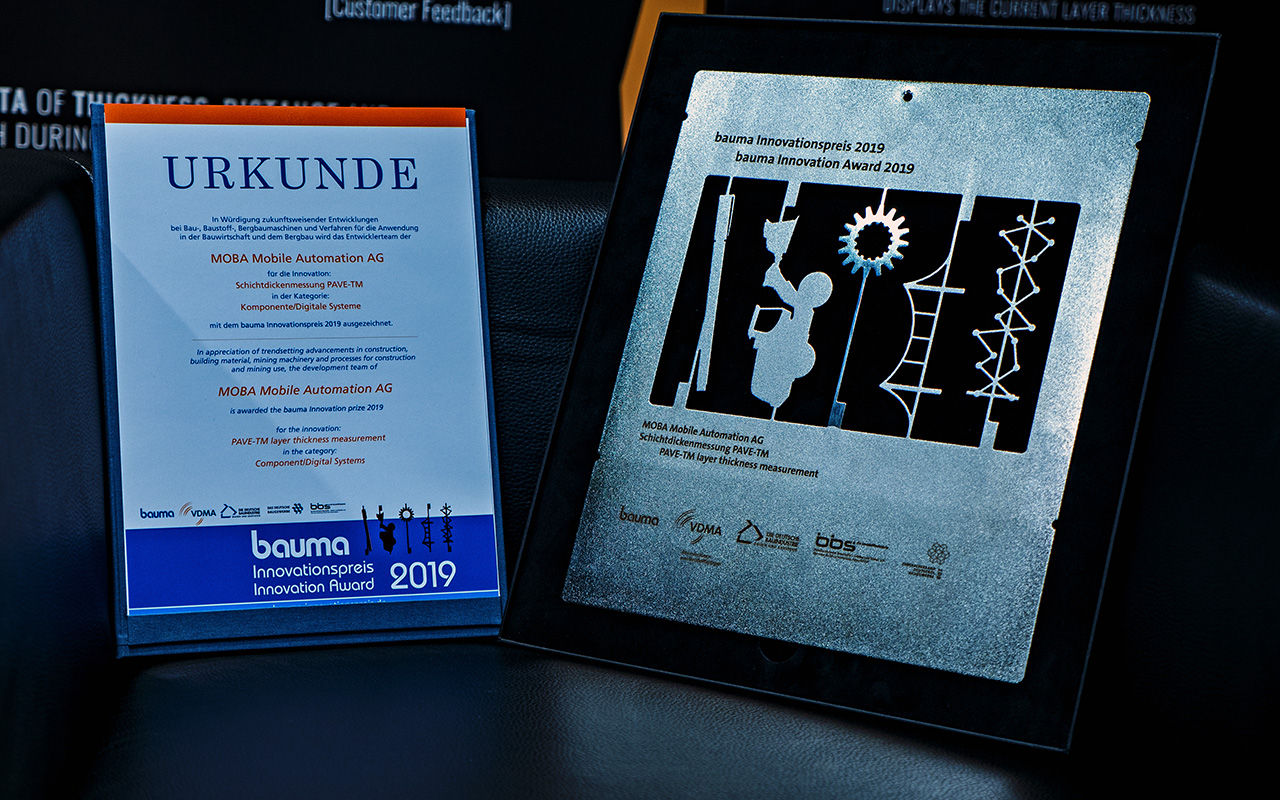 bauma innobation award